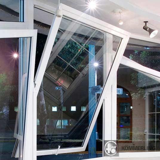 ventanas abatibles Kömmerling